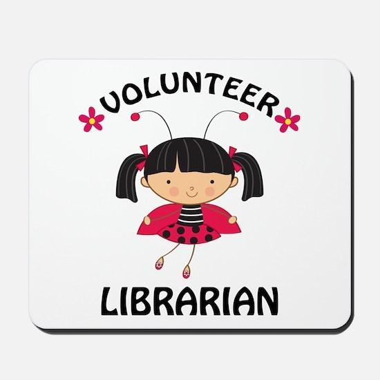 Volunteer Librarian Ladybug Mousepad