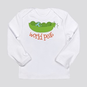 World Peas Long Sleeve Infant T-Shirt