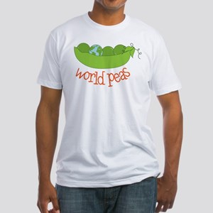 World Peas Fitted T-Shirt