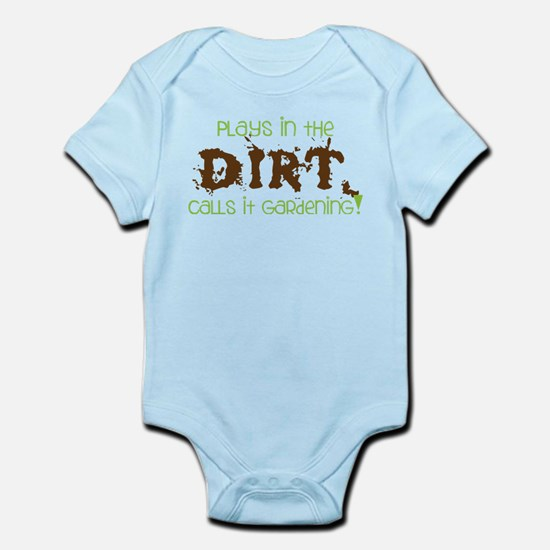 Dirty Dirt Infant Bodysuit