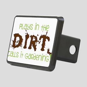 Dirty Dirt Rectangular Hitch Cover
