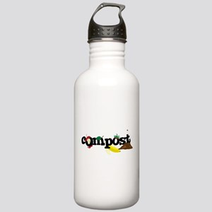 Compost Stainless Water Bottle 1.0L