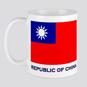The Republic Of China Flag Gear Mug
