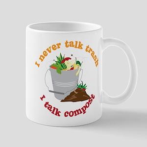 I Never Talk Trash Mug