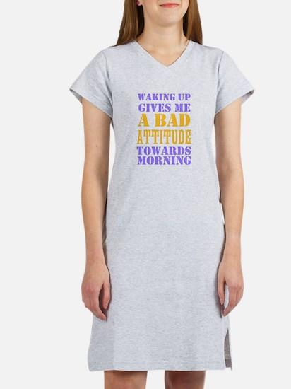Bad Attitude Women's Nightshirt