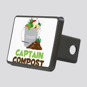 Captain Compost Rectangular Hitch Cover
