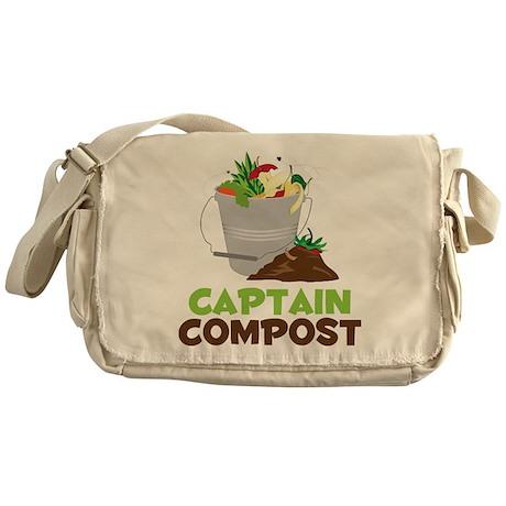 Captain Compost Messenger Bag