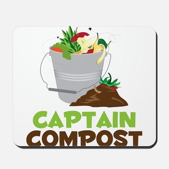 Captain Compost Mousepad