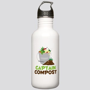 Captain Compost Stainless Water Bottle 1.0L