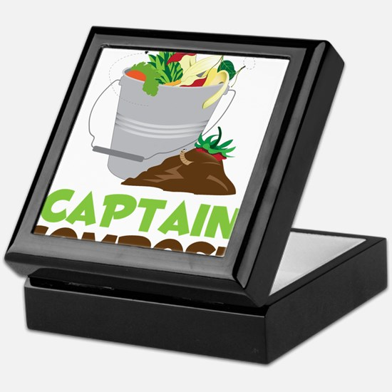 Captain Compost Keepsake Box