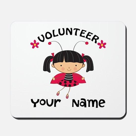 Personalized Volunteer Librarian Mousepad