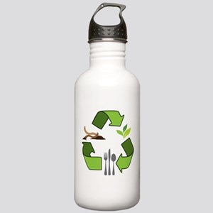 Recycle Logos Stainless Water Bottle 1.0L