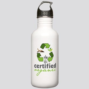 Certified Organic Stainless Water Bottle 1.0L