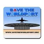 Save the Worldport Mousepad