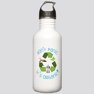 Dont Panic It's Organic Stainless Water Bottle 1.0