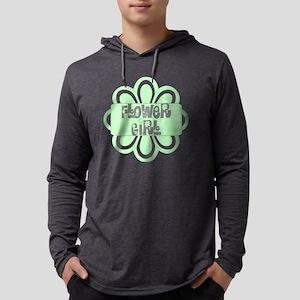 flowergirlgreen Mens Hooded Shirt