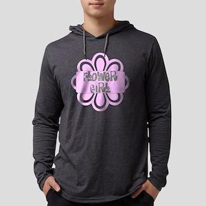 flowergirlpink Mens Hooded Shirt