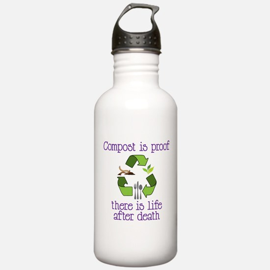 Life After Death Water Bottle