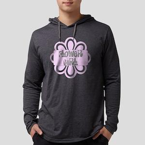flowergirlpurp Mens Hooded Shirt