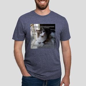 April_Job_vert Mens Tri-blend T-Shirt