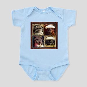 Cowboy/Caballero Cubed Infant Bodysuit