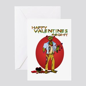 Zombie valentine greeting cards cafepress zombie valentines day greeting card m4hsunfo