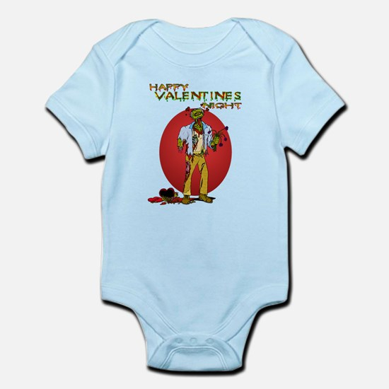 Zombie Valentines Day Infant Bodysuit