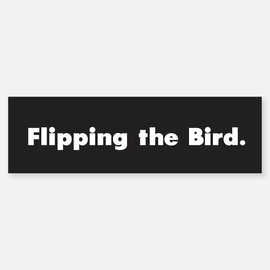 Flipping the Bird /FenderFlash