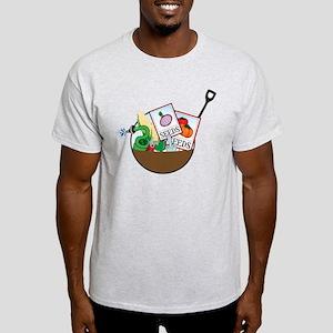 Gardening Basket Light T-Shirt