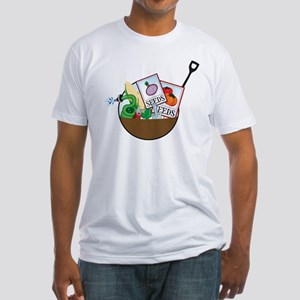 Gardening Basket Fitted T-Shirt