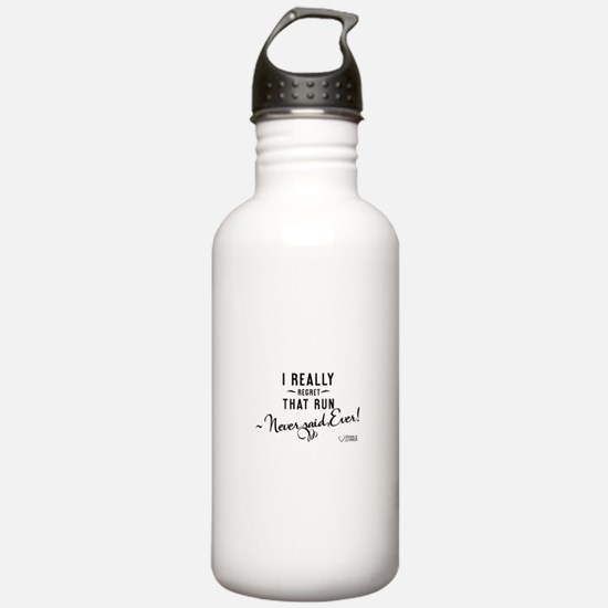 I Really Regret That Run - Water Bottle