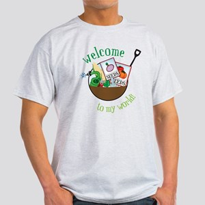 Welcome To My World Light T-Shirt