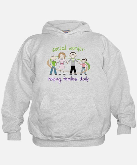 Helping Families Daily Hoodie