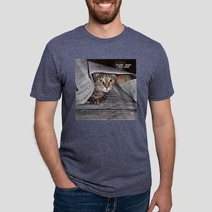 August_Trouble_Vert Mens Tri-blend T-Shirt