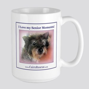 I Love my Senior Moments! Large Mug