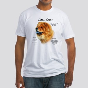 Chow Chow Fitted T-Shirt