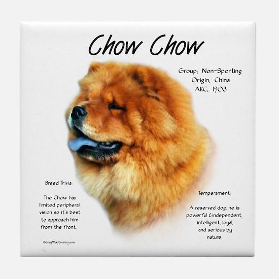 Chow Chow Tile Coaster