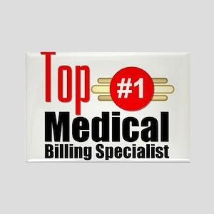 Top Medical Billing Specialist Rectangle Magnet