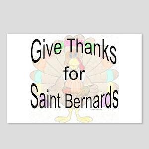Thanks for Saint Bernard Postcards (Package of 8)