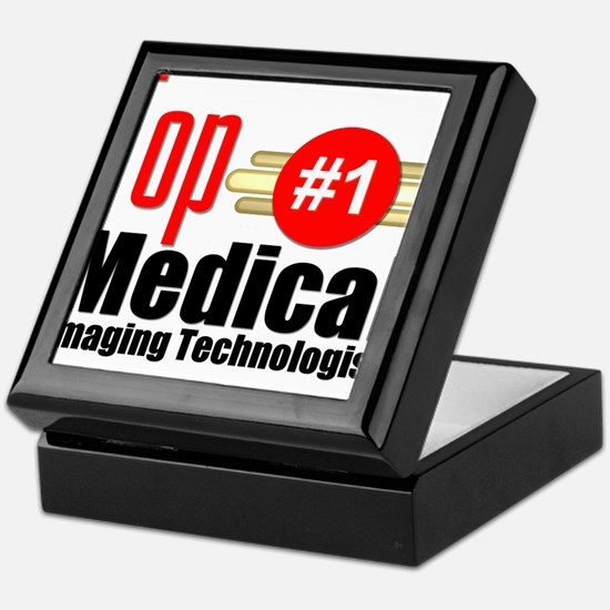 Top Medical Imaging Technologist Keepsake Box