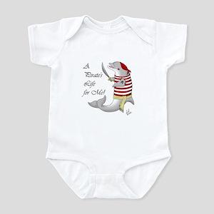 Pirate Dolphin Infant Bodysuit