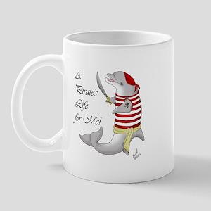 Pirate Dolphin Mug