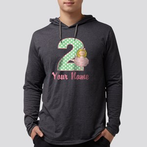 2nd Birthday Ballet Mens Hooded Shirt
