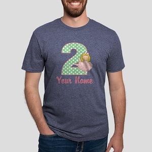 2nd Birthday Ballet Mens Tri-blend T-Shirt