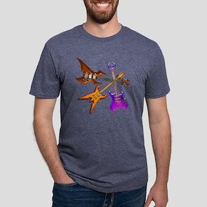 Guitars Heroes 20 Mens Tri-blend T-Shirt