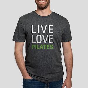 Live Love Pilates Mens Tri-blend T-Shirt