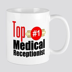 Top Medical Receptionist Mug