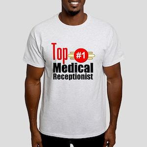 Top Medical Receptionist Light T-Shirt
