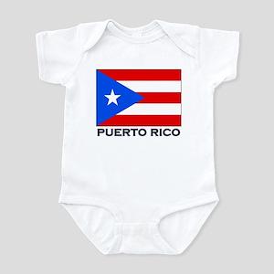 Puerto Rico Flag Stuff Infant Bodysuit