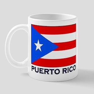 Puerto Rico Flag Stuff Mug